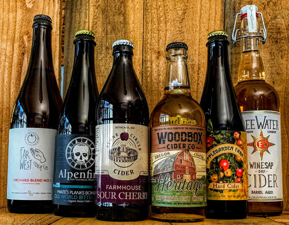 Local Pickup/Delivery - 6 Great Ciders ONLY $65.94