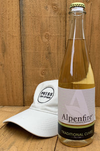 Alpenfire Traditional Cuvee 500 mL (6.9% ABV) ORGANIC CELEBRATOR SIZZLE