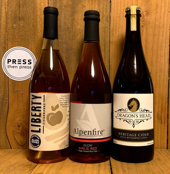 WA Cider Week Trio of Fine Cider