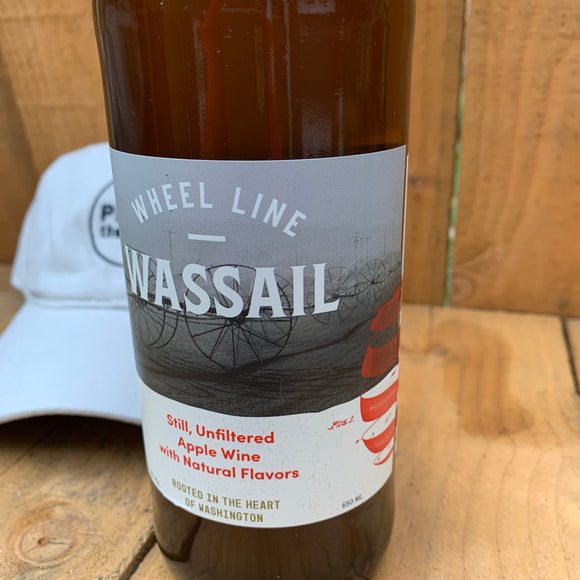 Wheel Line Wassail 650 mL (10.6% ABV) FRIENDLY HOLIDAY CIDER