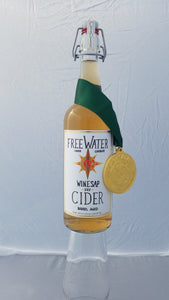 Freewater Winesap Dry SV - 750 mL (8.3% ABV) CARMEL APPLE OAK