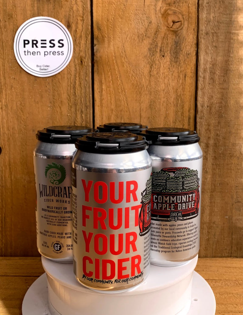 Wildcraft YOUR FRUIT YOUR CIDER 4 CANS 355 mL x4 (6.5% ABV) BEST CAN EVER