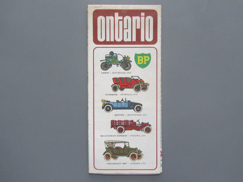1972 Ontario Road Map - BP