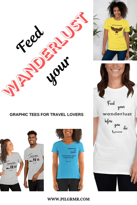 Awesome Tees To Feed Your Wanderlust