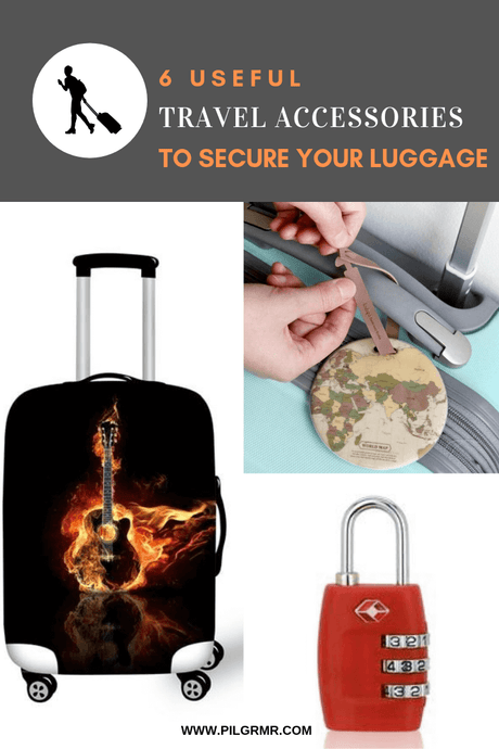 Tamper-proof Your Luggage With These Useful Travel Accessories