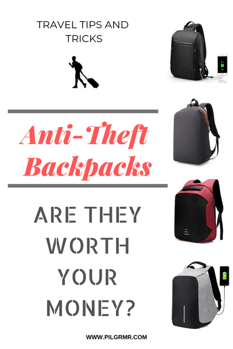 Why Getting An Anti Theft Backpack For Travel?