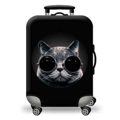 luggage cover cat