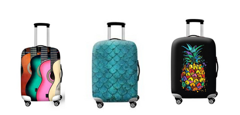 spandex suitcase covers