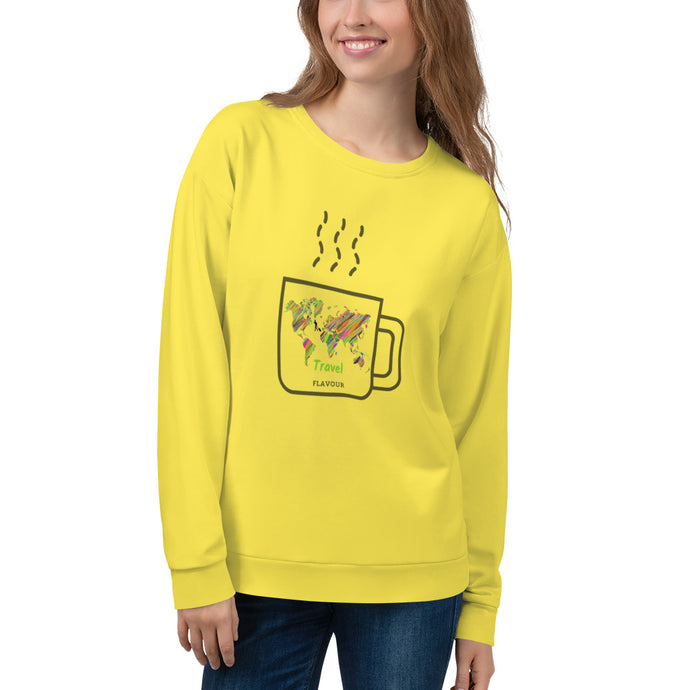 Comfort Colors Sweatshirt - Travel Flavour