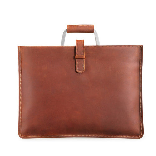 Men's Genuine Leather Urban Classic Briefcase - PILGRMR