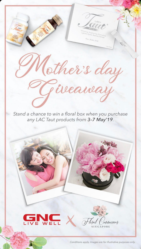 GNC collaboration for Mother's Day 2019