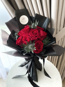 Signature Scarlet Rose Bouquet