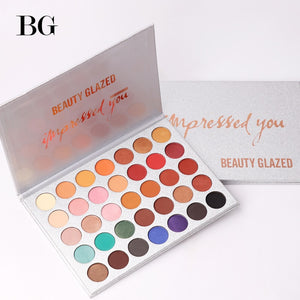Beauty Glazed 35Color Eyeshadow Palette Glitter Makeup Matte