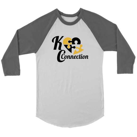 KC Connection Unisex Baseball Shirt