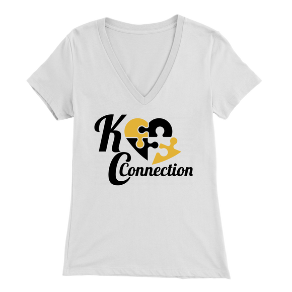 KC Connection Women's V-Neck T-Shirt