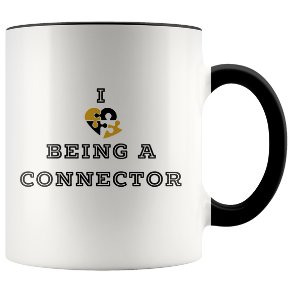 I Love Being a Connector Mug