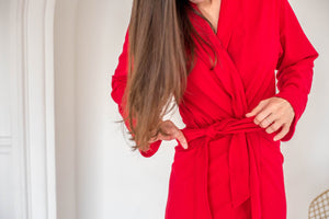The Bamboo Robe - Red