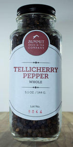 Peppercorn: Tellicherry Whole