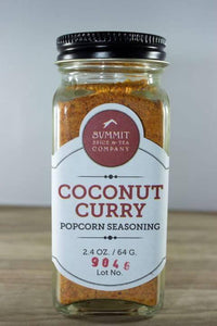 Coconut Curry Popcorn Seasoning