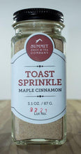 Load image into Gallery viewer, Toast Sprinkle: Maple Cinnamon