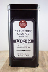 Cranberry Orange Black