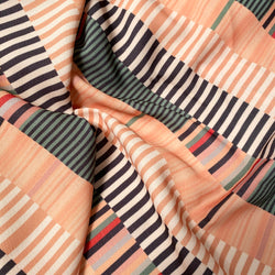 Back Sateen Crepe | Rug Stripe