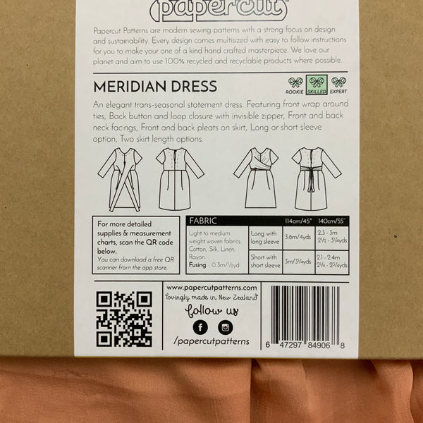 Paper Pattern : Meridian Dress | Papercut Patterns