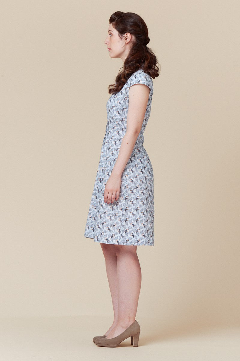 Paper Pattern : Bleuet Dress | Deer and Doe