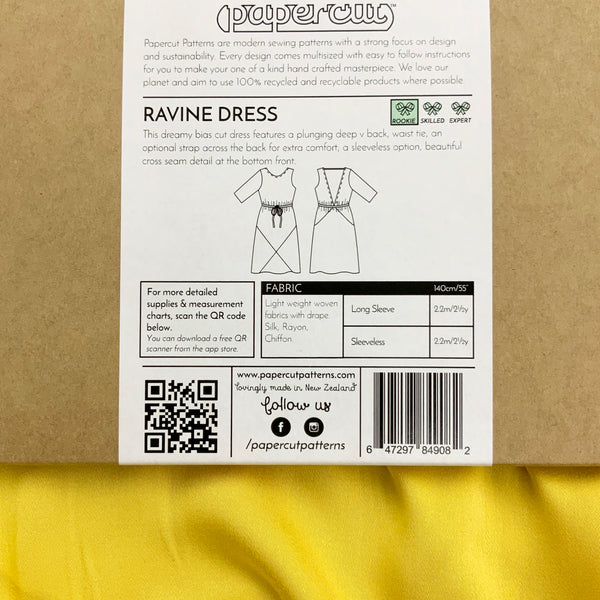 Paper Pattern : Ravine Dress | Papercut Patterns