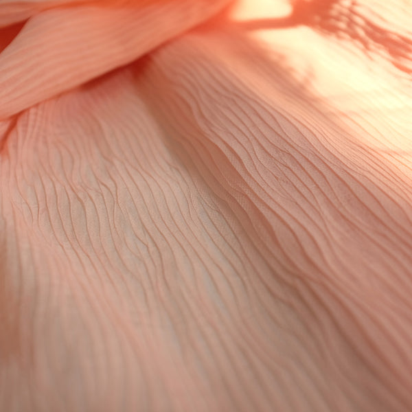 Chiffon Silk | Wave Pleats