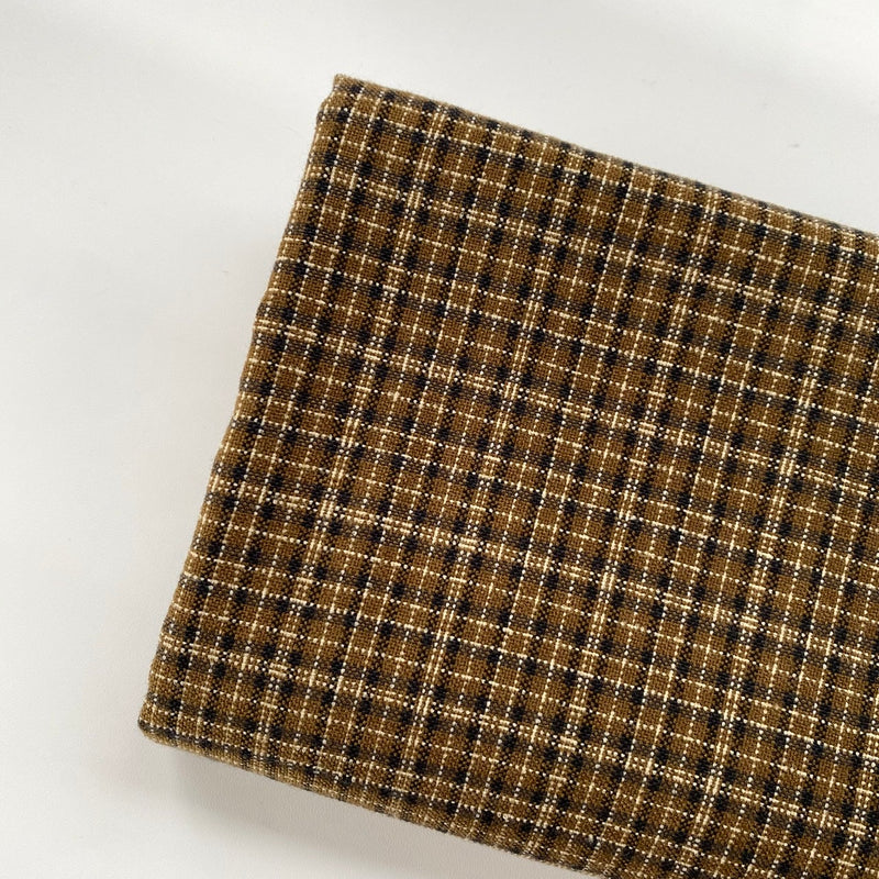 Tweed | Coffee Gold Kotak Kecil