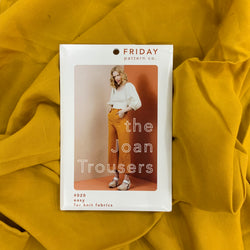 Paper Pattern : Joan Trousers | Friday Pattern Co