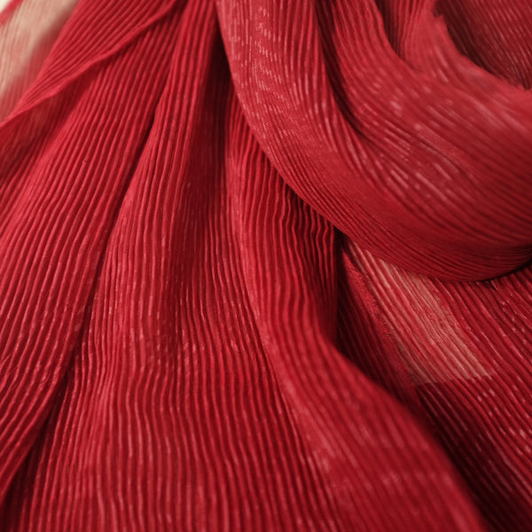 Pleat Lidi Signature | Chiffon Silk