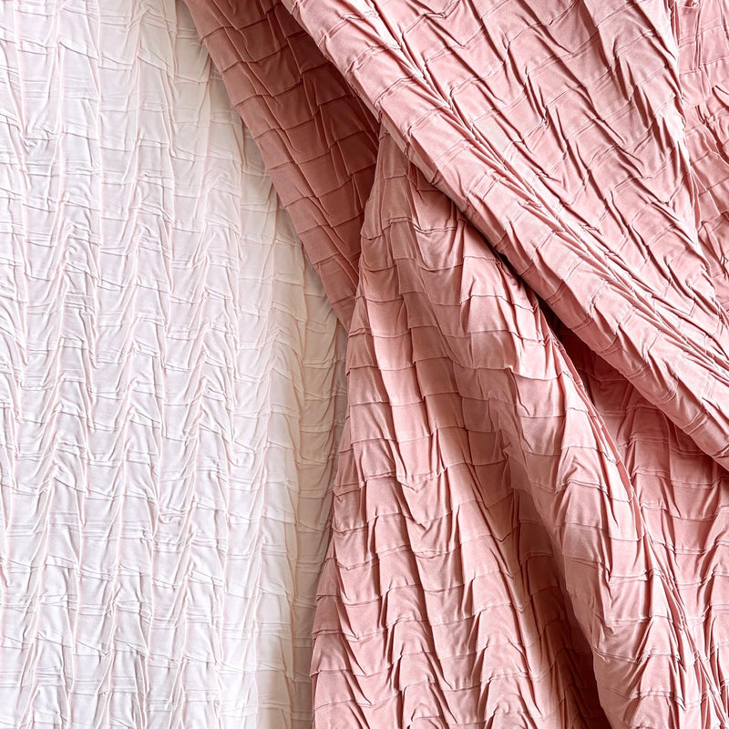 Peach CDC | Square Pleat