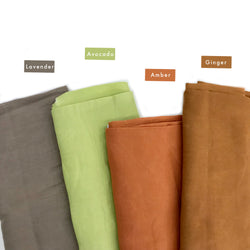Euca Voille New (linen look & feel) | Solid