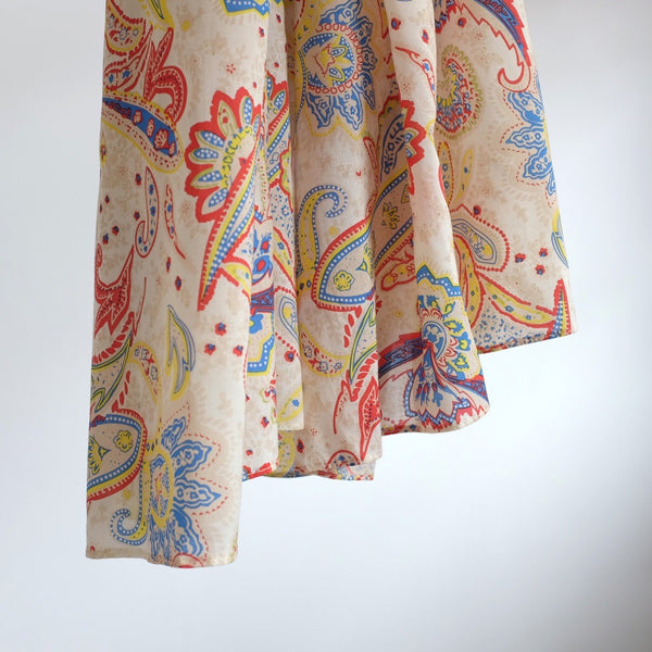 Rayon Voille | Ethnic Paisley