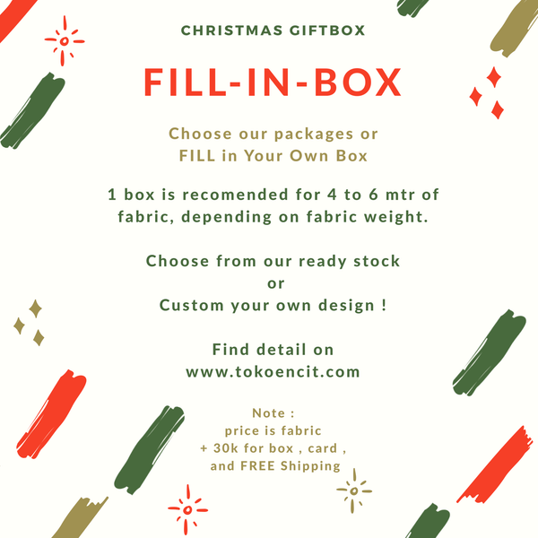 Christmas Gift Box | Fill-In-Box