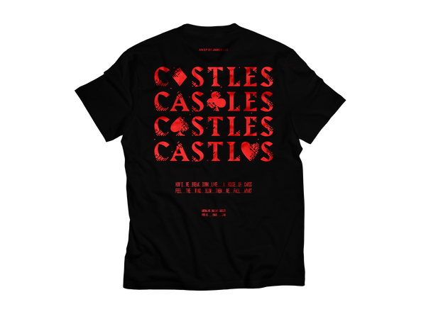 """Flush"" Castles EP Release Tee Printed Front & Back [Unisex]"
