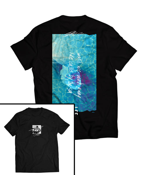"""Sinking"" Castles EP Release Tee Front & Back Print [Unisex]"