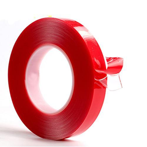10mm Red PET Film Double Adhesive Tape for Mobilephone LCD