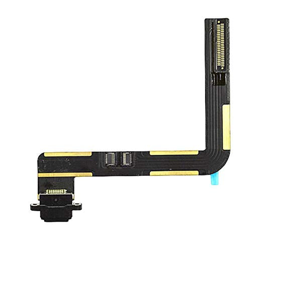 iPad Air 1 / iPad 5 (2017) / iPad 6 (2018) (Soldering Required)  BLACK Charging Port Flex Cable