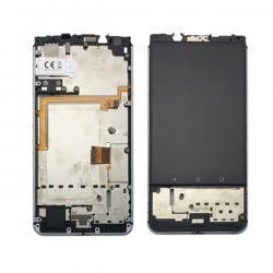 BLACKBERRY KEY ONE FRAME LCD OEM BLACK