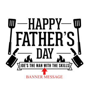 Happy Father's Day Engraving Template