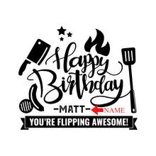 Load image into Gallery viewer, Happy Birthday Cutting Board