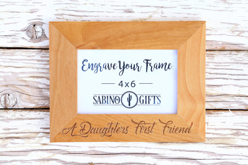 Daughter's First Friend Picture Frame