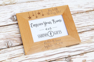 Little Shining Star Picture Frame