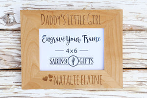 Daddy's Girl Picture Frame
