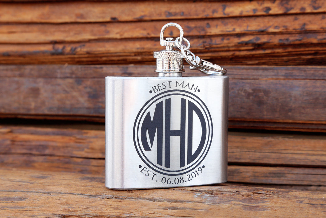 Medallion Flask