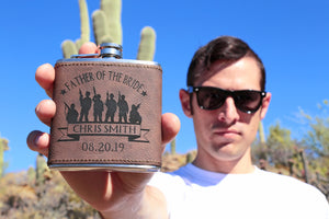 Band of Brothers Flask