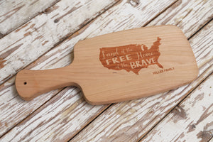 Patriotic Cutting Board